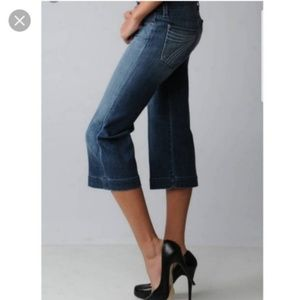 7 For All Mankind Jeans - 7 for all Mankind Crop Dojo Dark Wash Women's 26